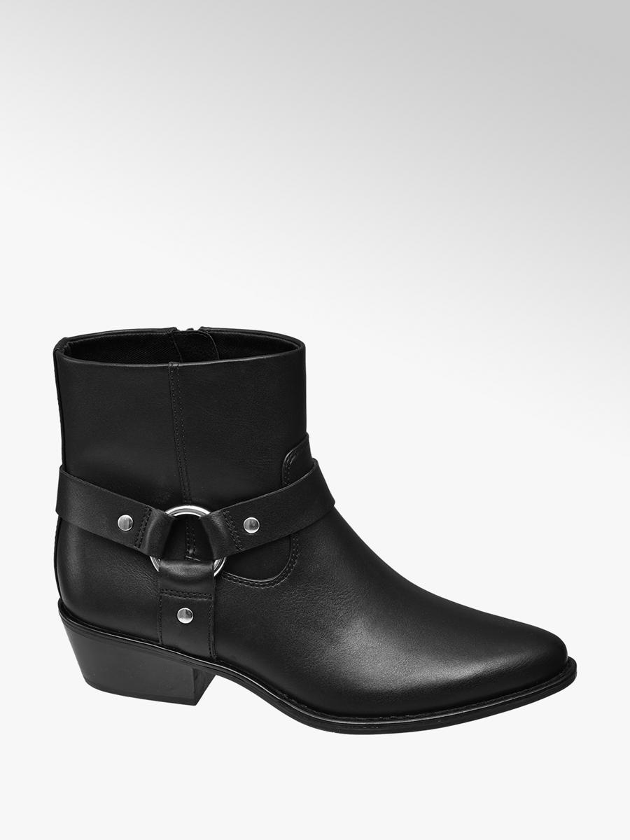 separation shoes f1941 35633 Damen Western Boots von Catwalk in schwarz - deichmann.com