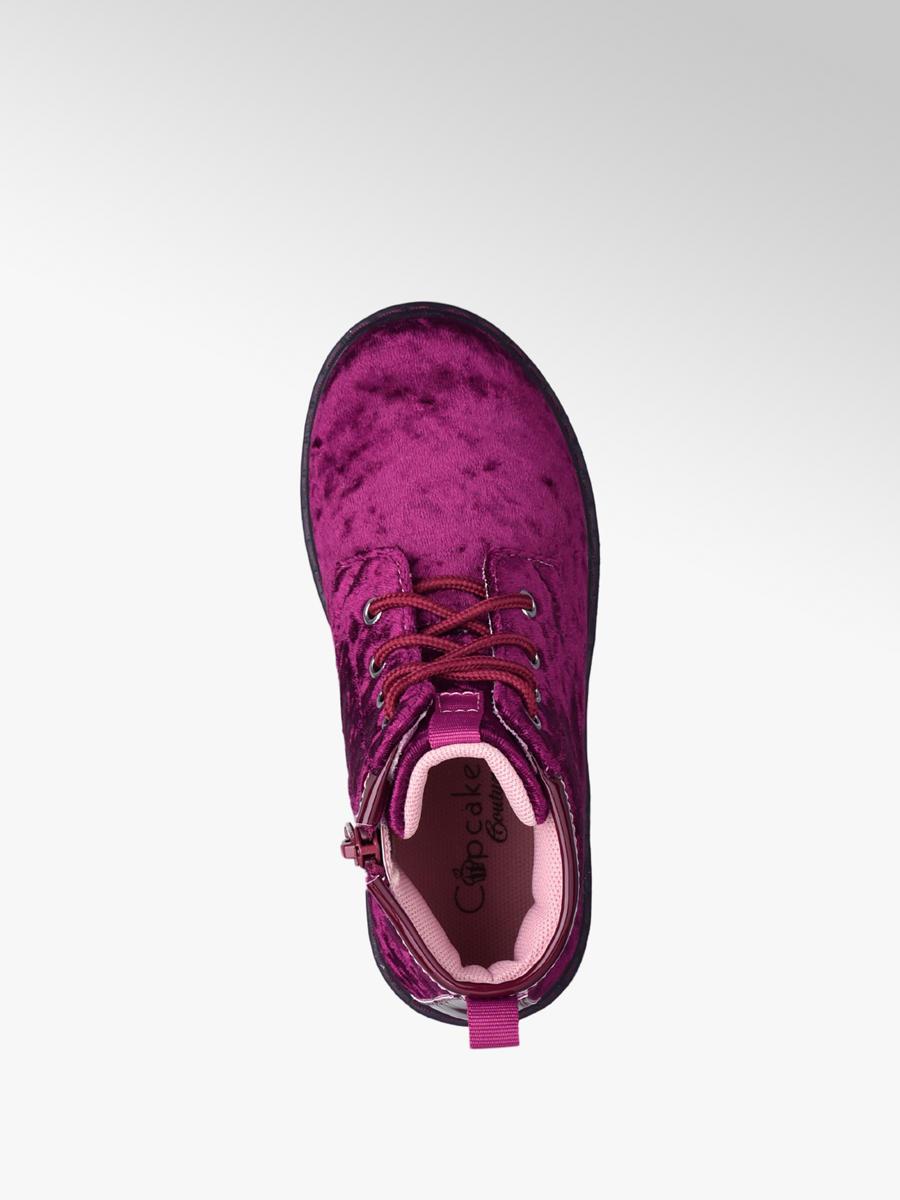 9302eae4d5a8 Detská členková obuv značky Cupcake Couture vo farbe bordová ...