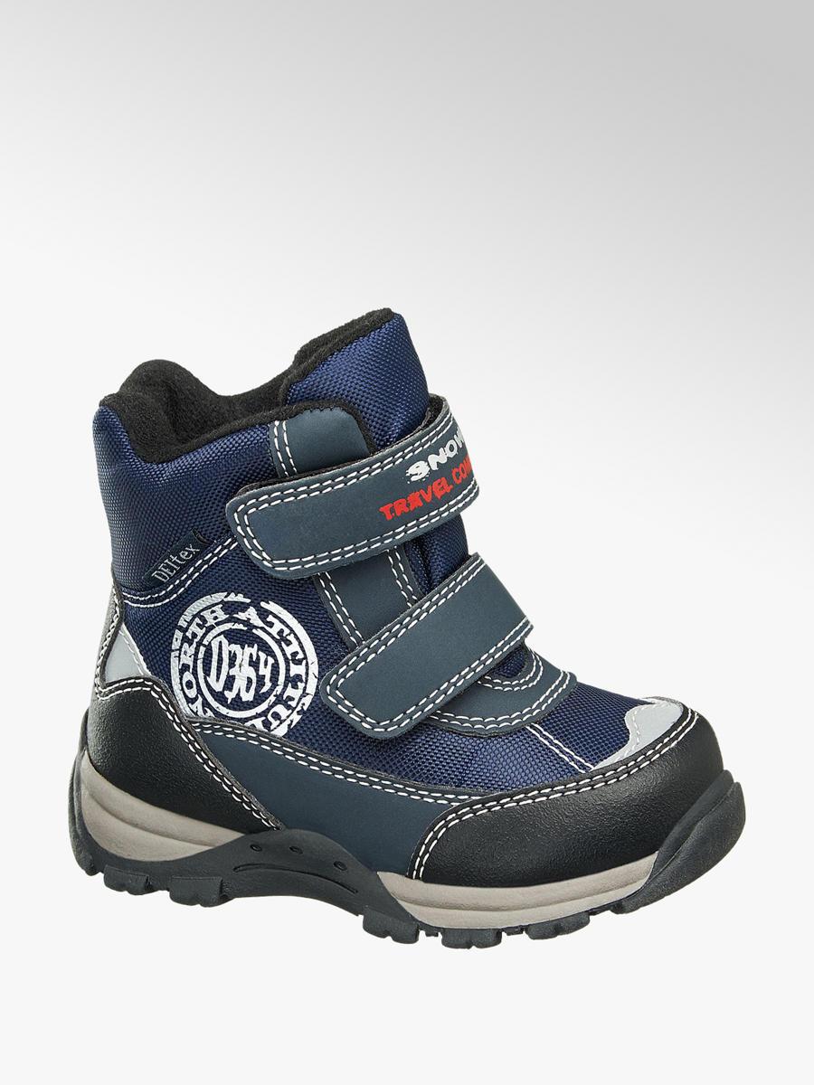 42c5dcb52555 Detská zimná obuv s TEX membránou značky Cortina vo farbe modrá -  deichmann.com