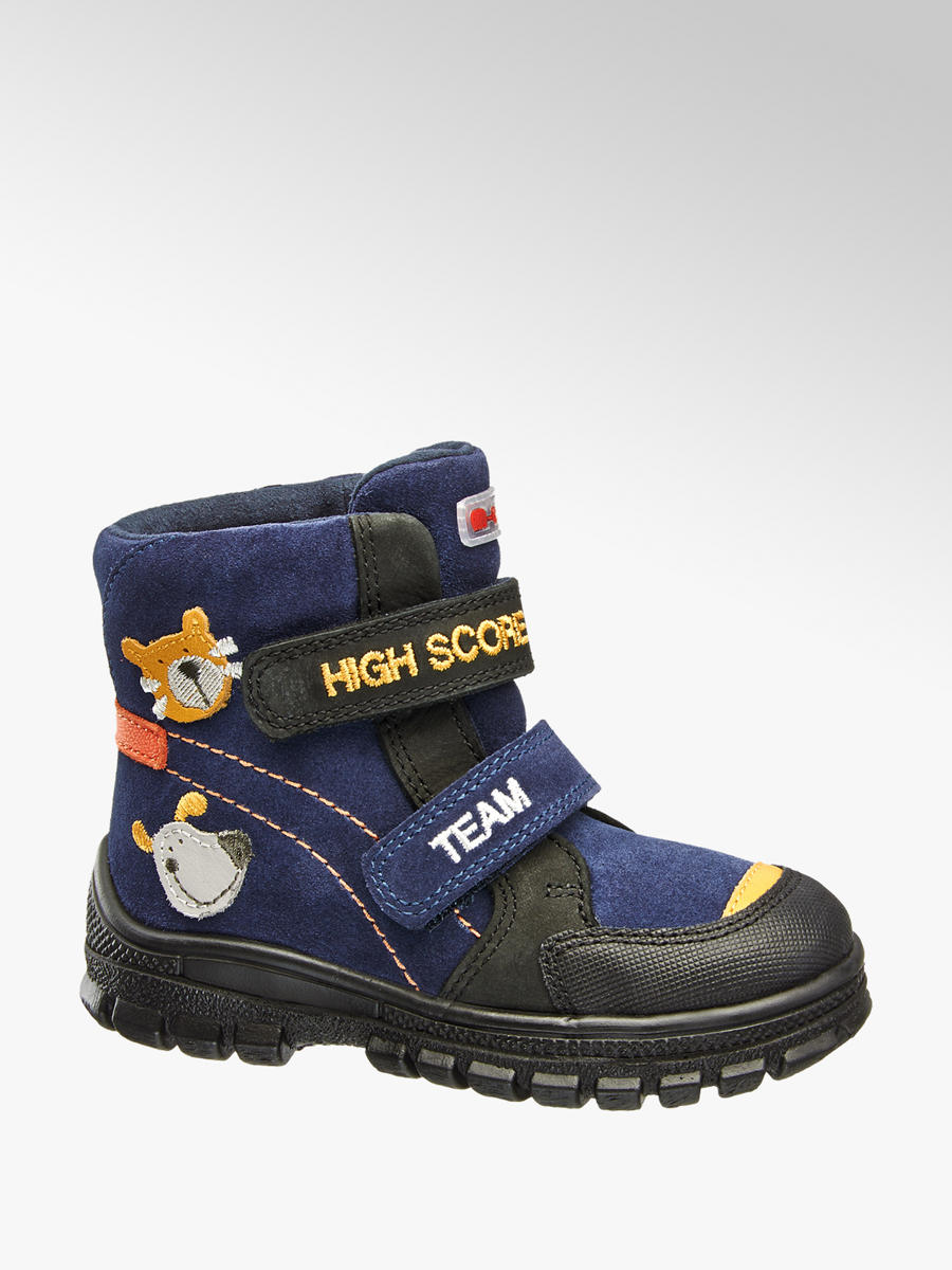 Detská zimná obuv s TEX membránou značky Elefanten vo farbe modrá -  deichmann.com 4de567a48a3