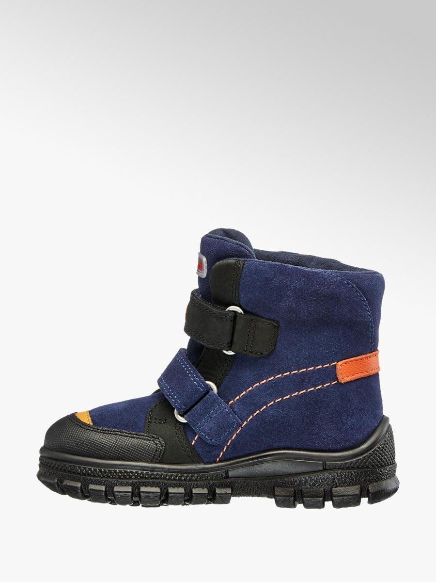 Detská zimná obuv s TEX membránou značky Elefanten vo farbe modrá ... 1a5b3654d91