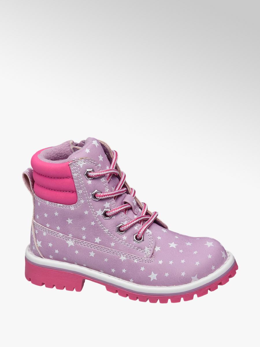 Detská zimná obuv značky Venice vo farbe ružová - deichmann.com 8986a0e8860