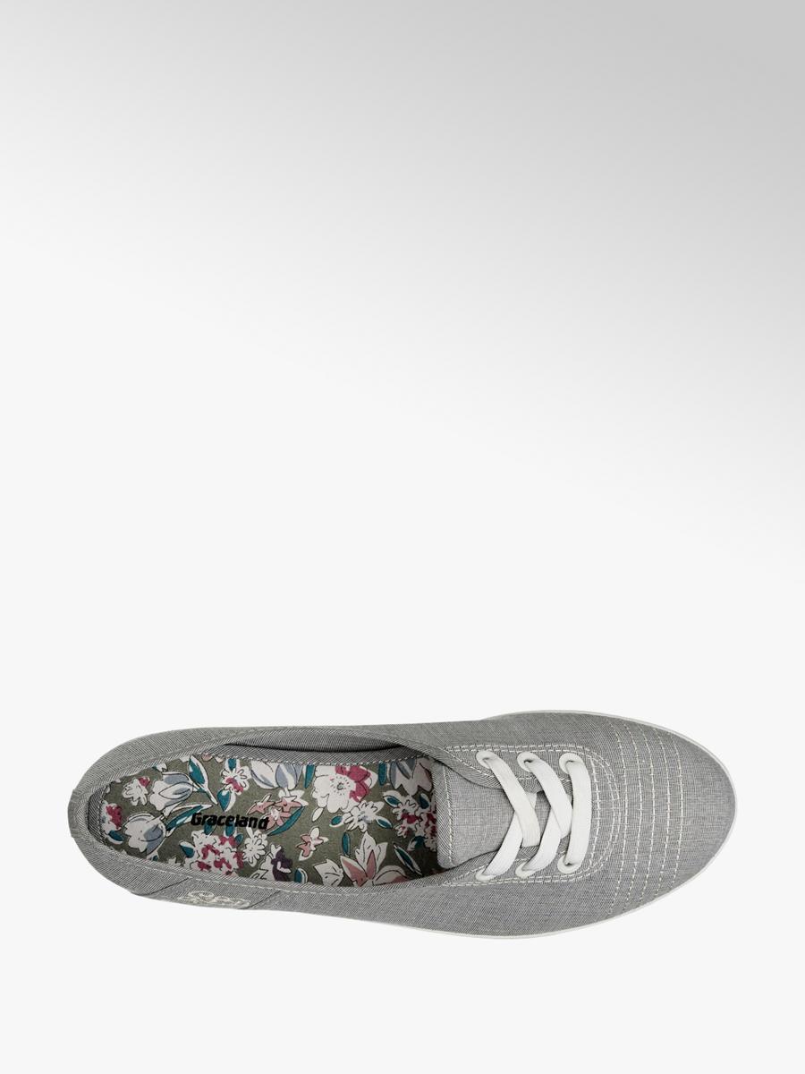 db65e960b09 Dámské tenisky značky Graceland v barvě šedá - deichmann.com