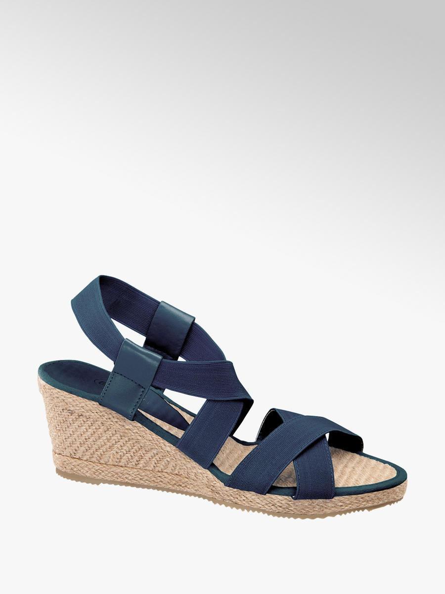 4241312536 Dámske sandále značky Graceland vo farbe modrá - deichmann.com