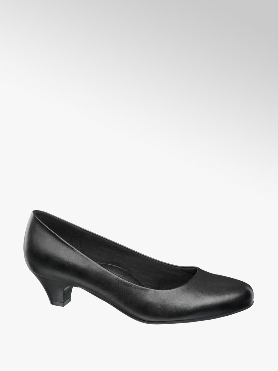 298c0d0dbbe Easy Street Ladies' Comfort Court Shoes Black | Deichmann