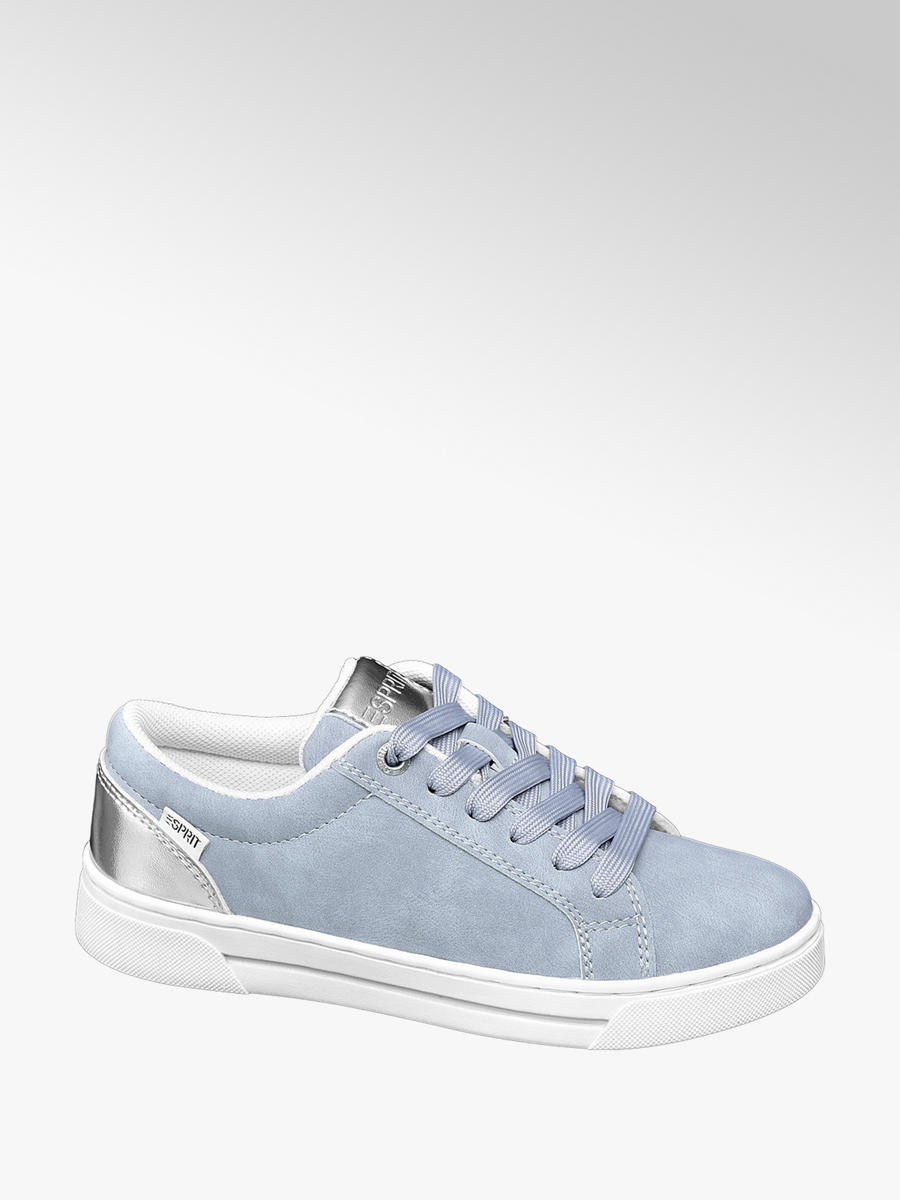 Esprit Sneaker in Blau mit Metallic Details | DEICHMANN AT