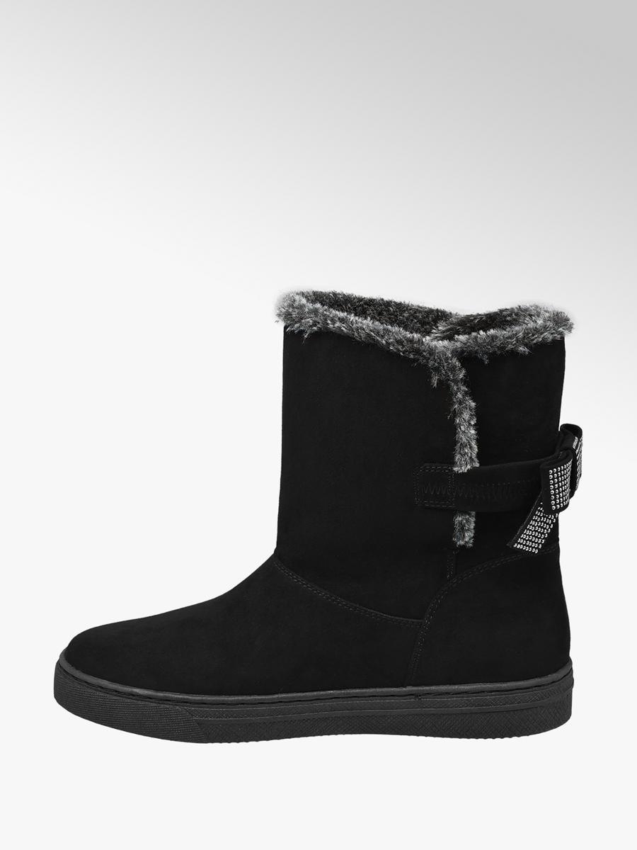 Fekete női csizma - Graceland  ea051394b1