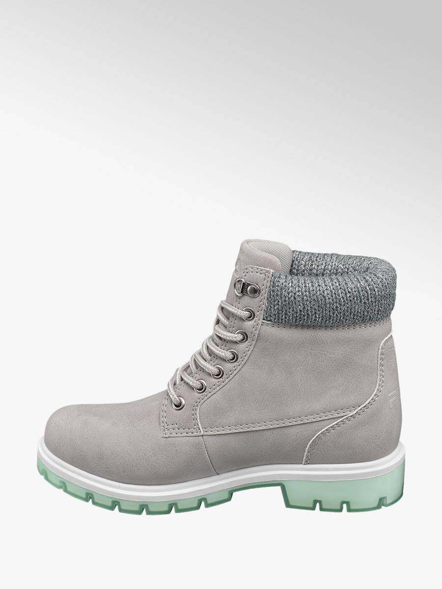 782c2b62c6b3 Boots Boots Ankle Lace Up Fila Fila Grey Ladies Deichmann q8RIP