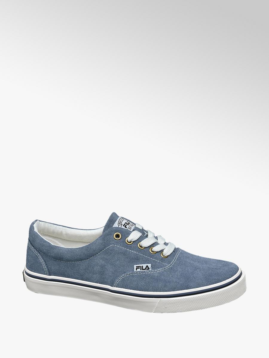 c9413010873 Fila Blauwe canvas sneaker - Gratis Bezorgd & Retour | vanHaren.nl