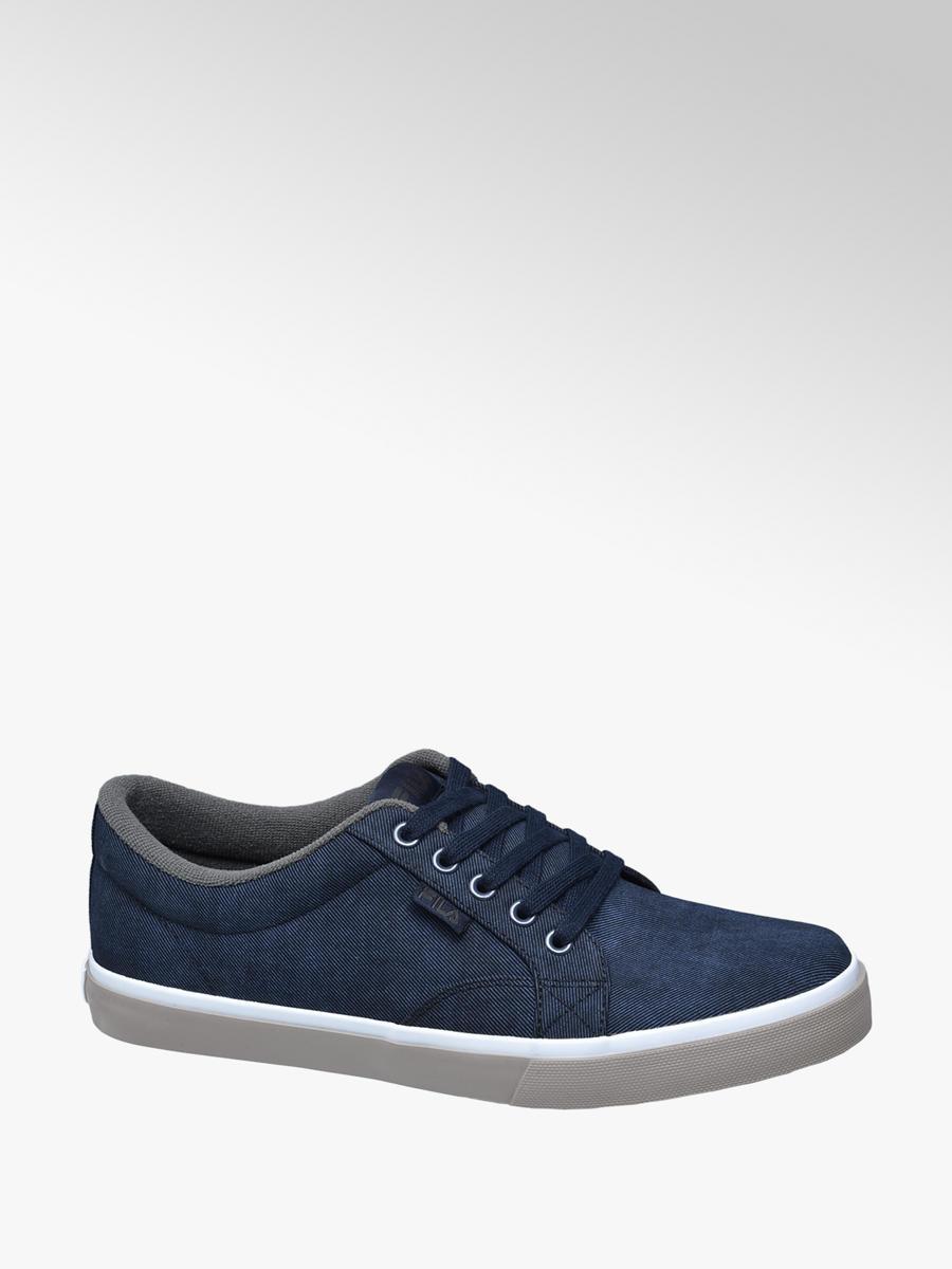 Fila Men's Lace-up Canvas Shoes in Blue