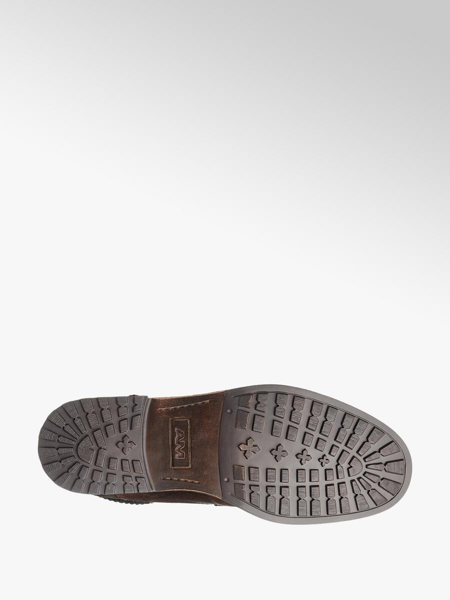 BŐR. Am Shoe Férfi bakancs 69d850a25a
