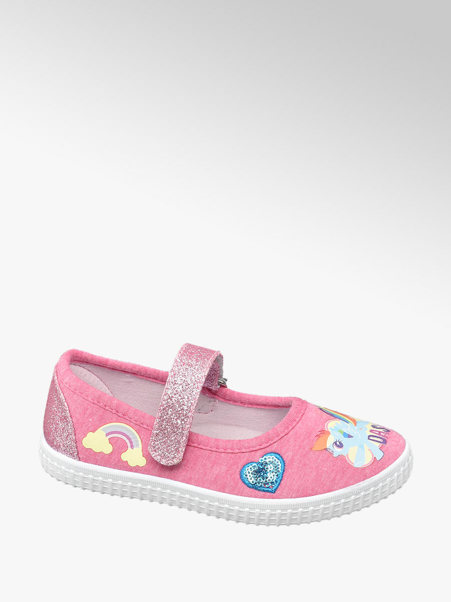 3a9db0f7bd7 Fuchsia Pink Toddler Girls My Little Pony Canvas Shoe | Deichmann
