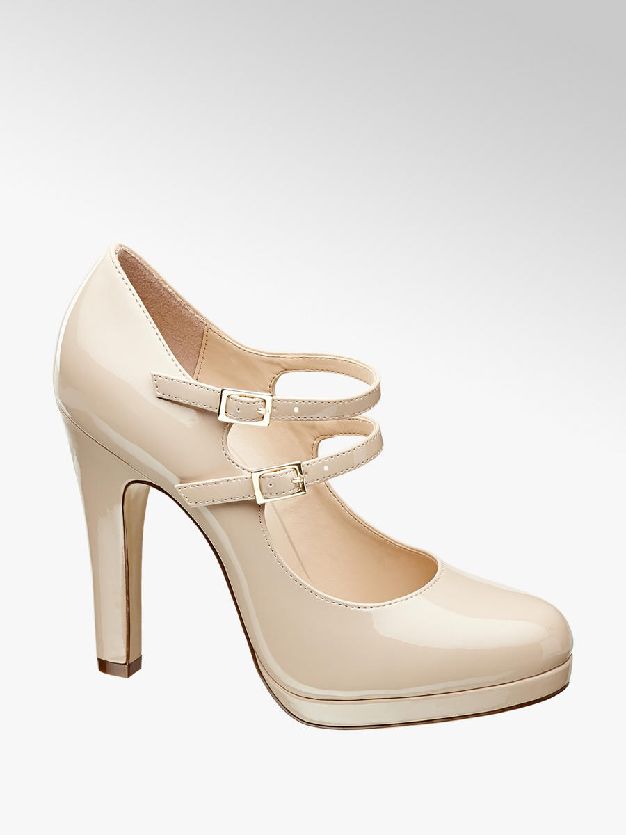 Neu Deichmann Graceland Plateau Pumps high heels highheels