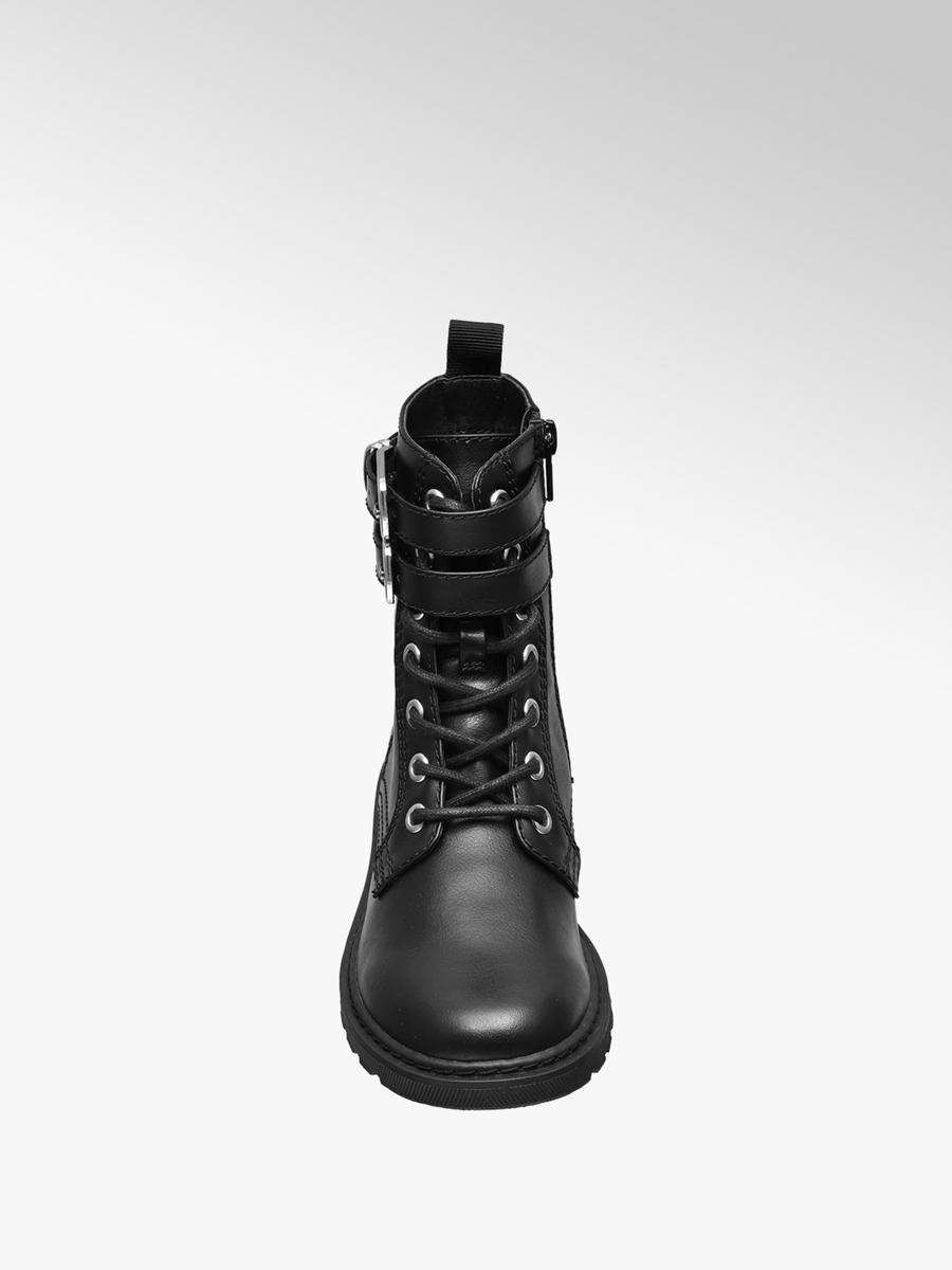 Graceland Junior Girls Lace-Up Boots