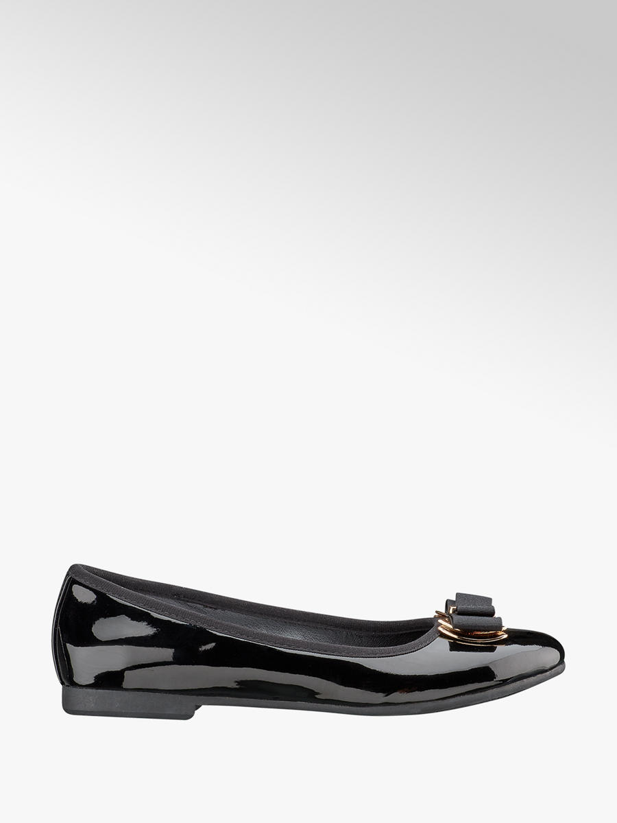 2253ec3cc3f23 Graceland Ladies Black Bow Detail Ballerinas. 2; 2; 3. This article has  been rated 4 times