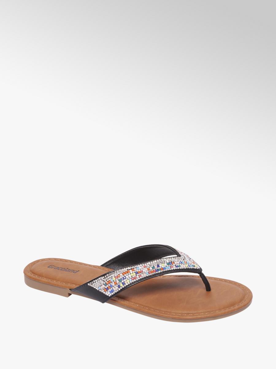 c1941d315a4 Graceland Ladies Beaded Sandal