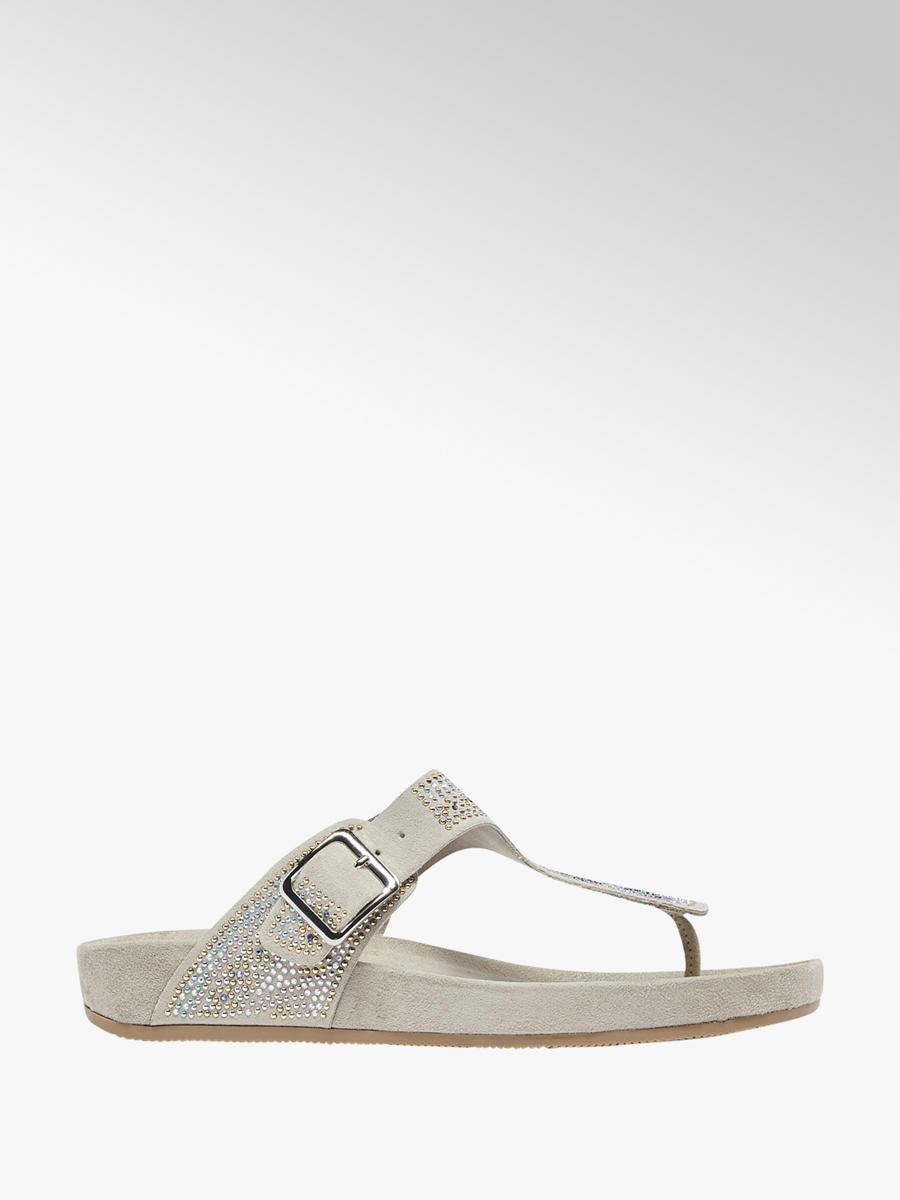 a66347894f0 Graceland Grey Gem Detail Footbed Sandal. 2  2  3. This article has been  rated 1 times