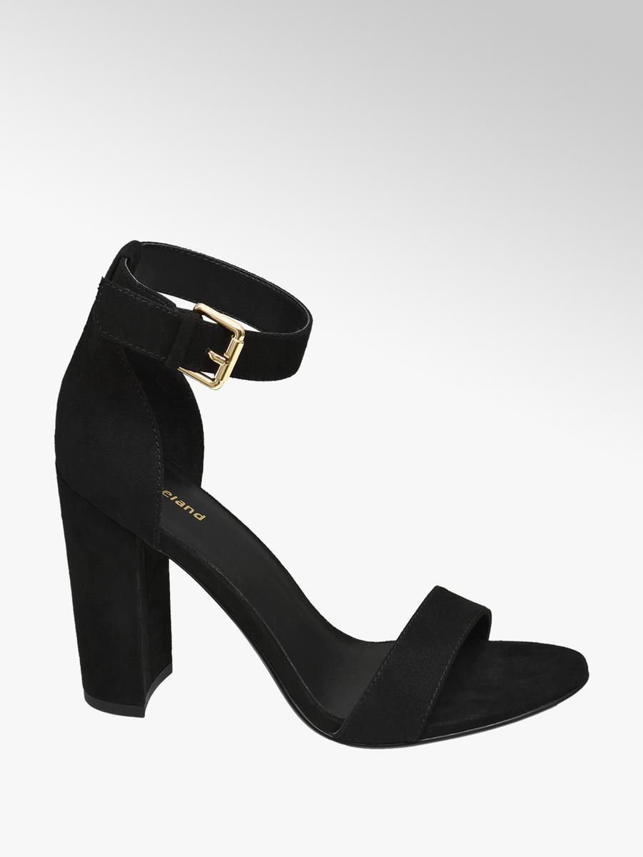 5c70e97896a Graceland Ladies High Heeled Sandals Black   Deichmann