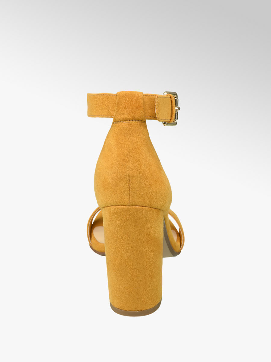 1b6a82ea698 Graceland Ladies' High Heels Mustard   Deichmann