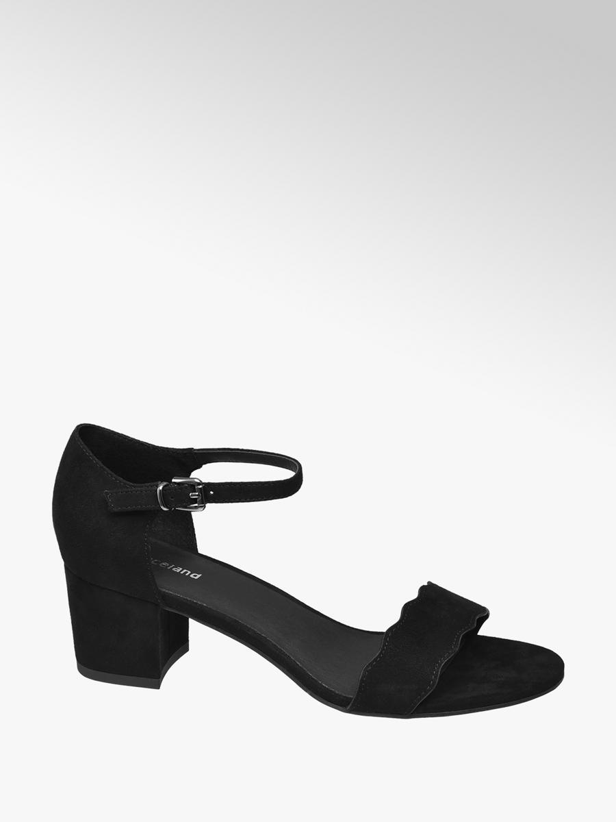 0566cd7a37b Graceland Ladies Low Block Heels Black | Deichmann
