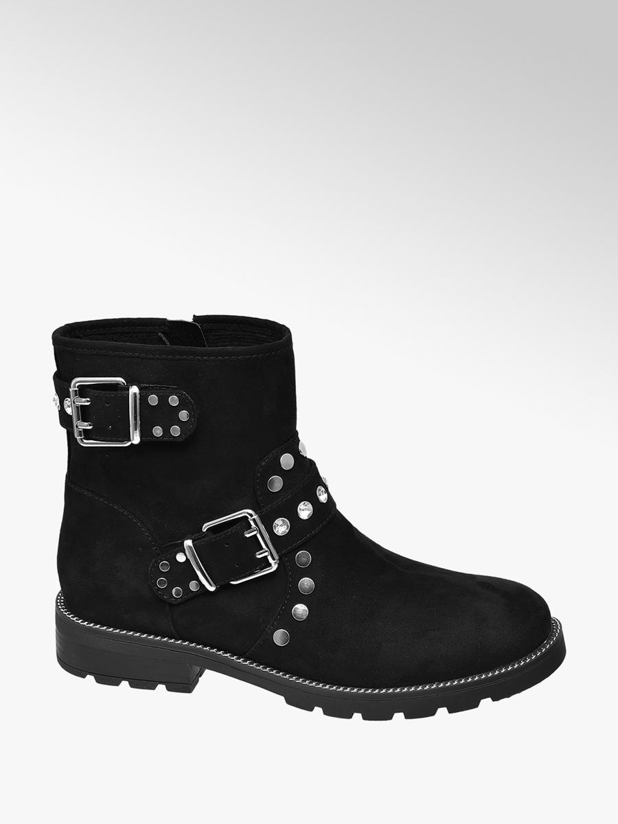 Graceland Ladies Studded Ankle Boots