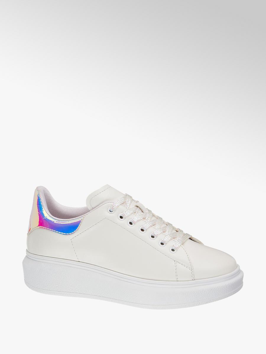 Graceland Plateau Sneaker in Weiß