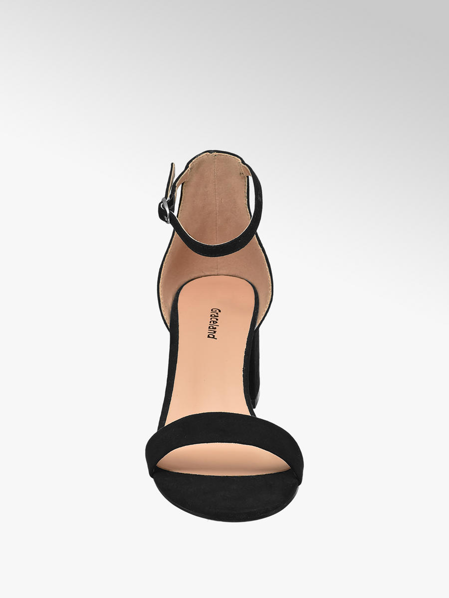 5489ab864bd4 Graceland Teen Girl Block Heel Party Shoes Black (Sizes 13-3 ...