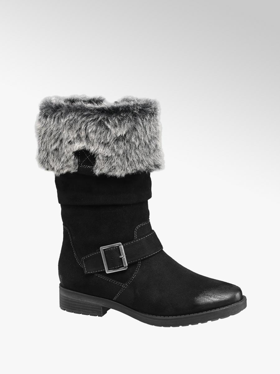 Deichmann Shoes Graceland girl Junior Girl Black High Leg Boots black New