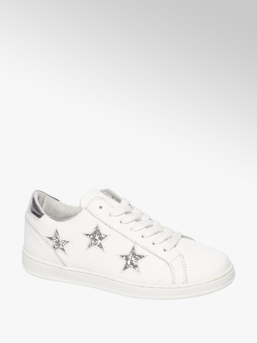 619d083c6ae Graceland Witte sneaker sterren - Gratis Bezorgd & Retour | vanHaren  Schoenen