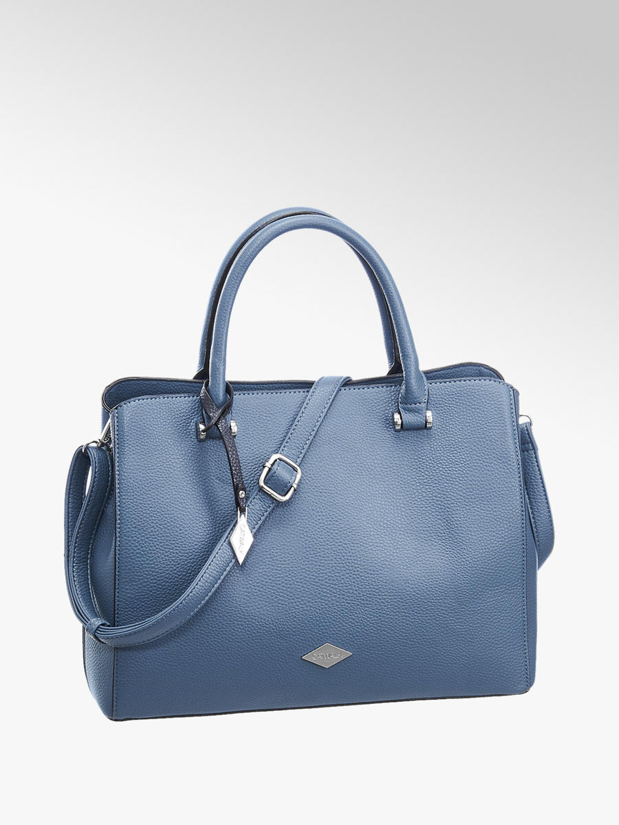 1fb0de8fd0a2e Handtasche von Catwalk in blau - DEICHMANN