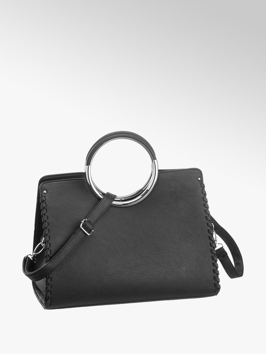 08e0c5ffc26f4 Handtasche von Catwalk in schwarz - DEICHMANN