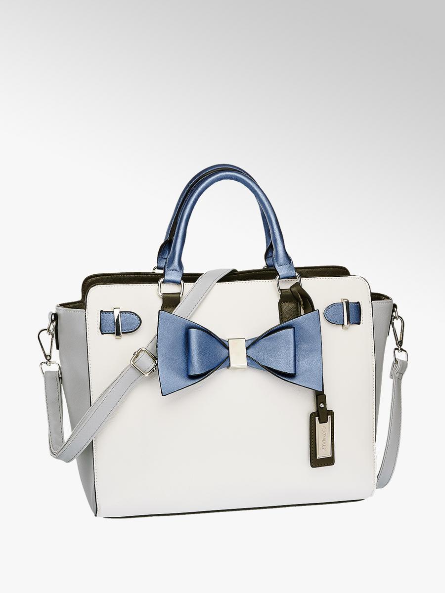 9f06afc0e70f6 Handtasche von Catwalk in weiß - DEICHMANN