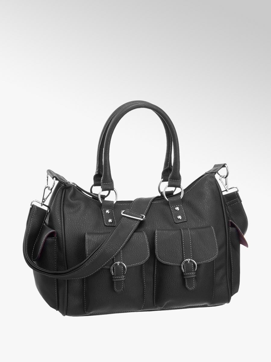 d1c2187fa7977 Handtasche von Graceland in schwarz - DEICHMANN