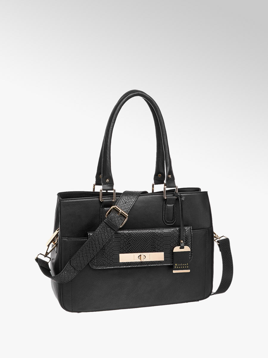 e06fb731541eb Handtasche von Michael Shannon in schwarz - DEICHMANN
