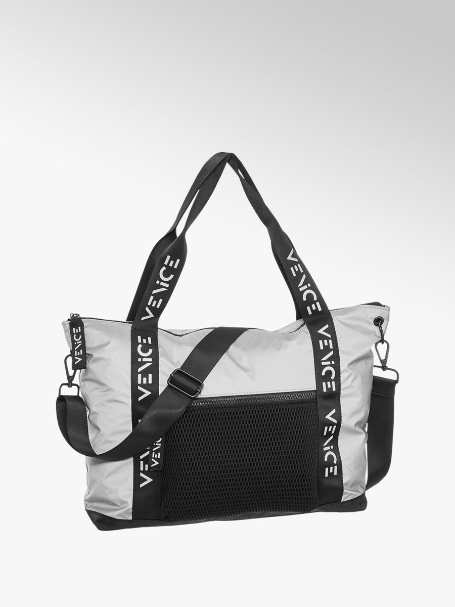 55233e8387ec1 Handtasche von Venice in schwarz - DEICHMANN