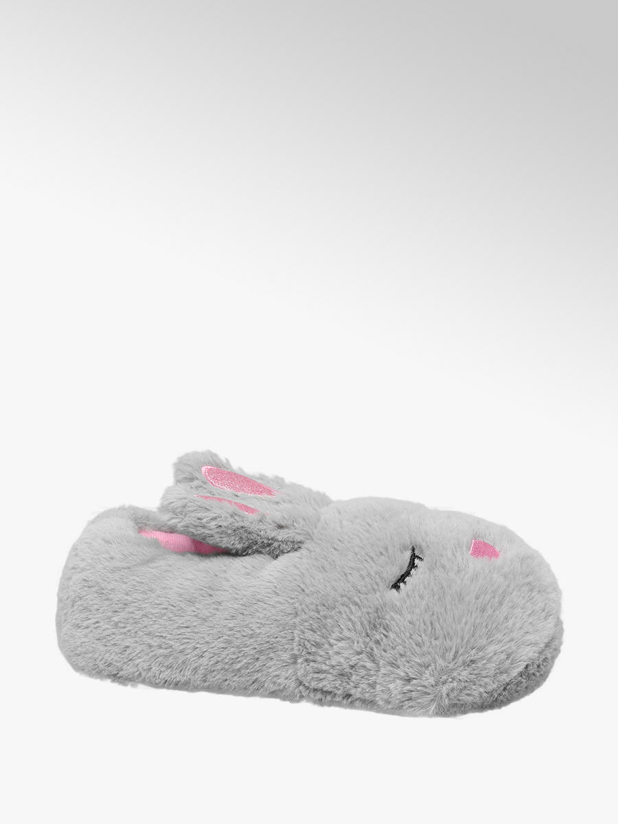 official photos ac507 d8702 Hase Kinder Hausschuh in grau von Cupcake Couture günstig im ...