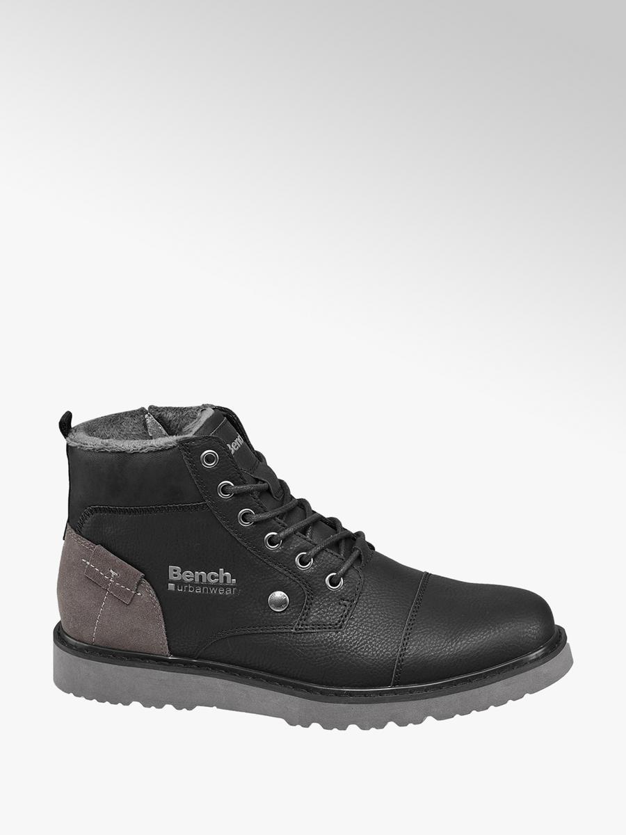 a27fcb45db30c7 Herren Schnürschuh in schwarz von Bench günstig im Online-Shop kaufen