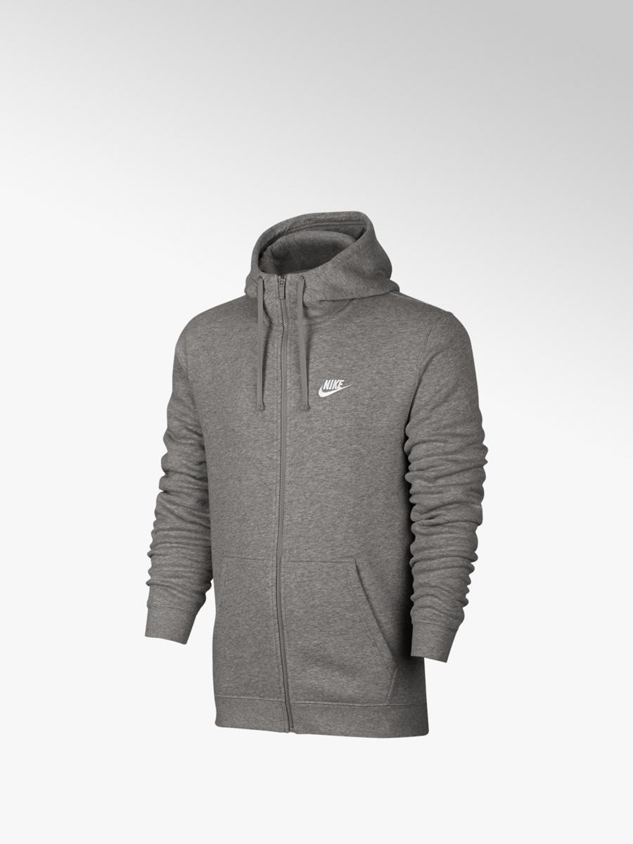 30f42b0e2b17f7 Herren Sweatjacke in grau von Nike günstig im Online-Shop kaufen
