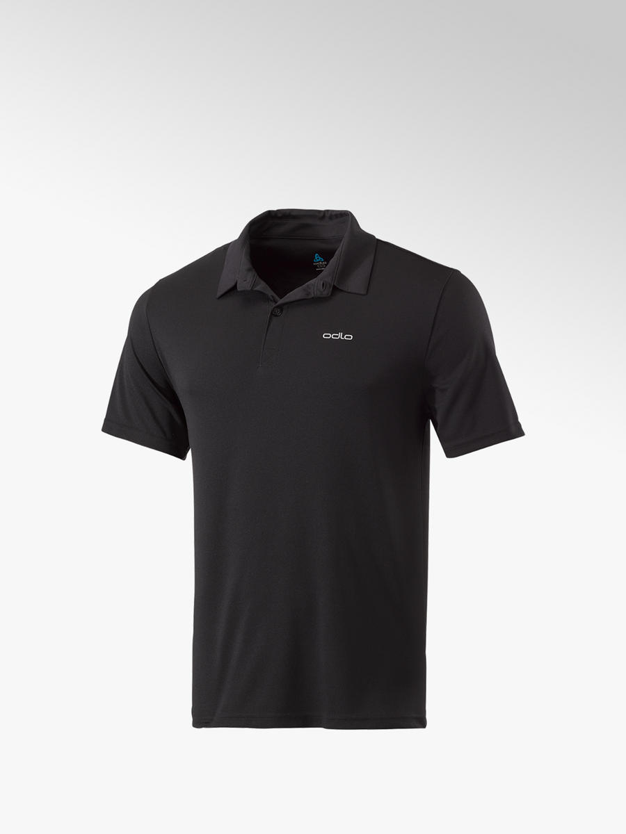 online store 5d496 d7a92 Herren Training Poloshirt in schwarz von Odlo günstig im ...