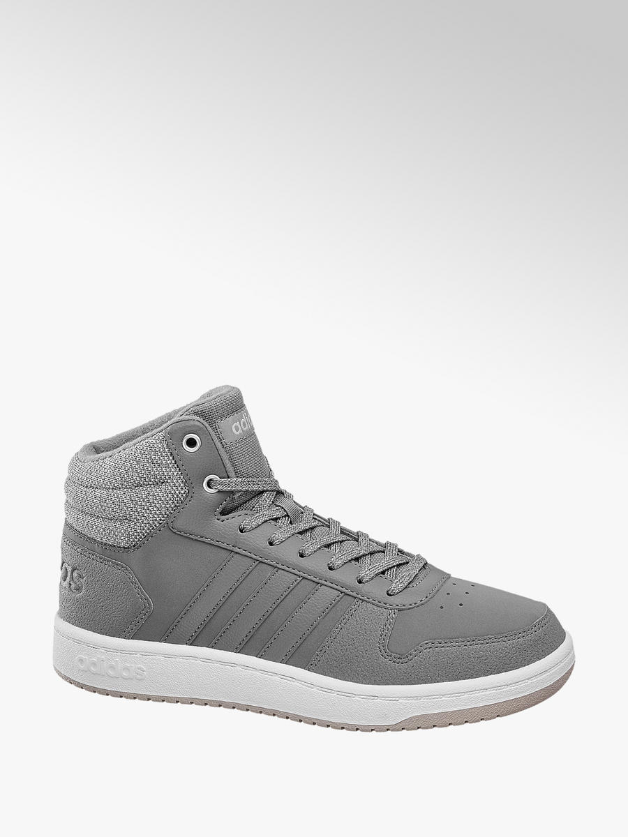online store 6cdf7 9a09f Hoops Mid 2.0 Damen Sneaker in grau von adidas günstig im Online-Shop kaufen