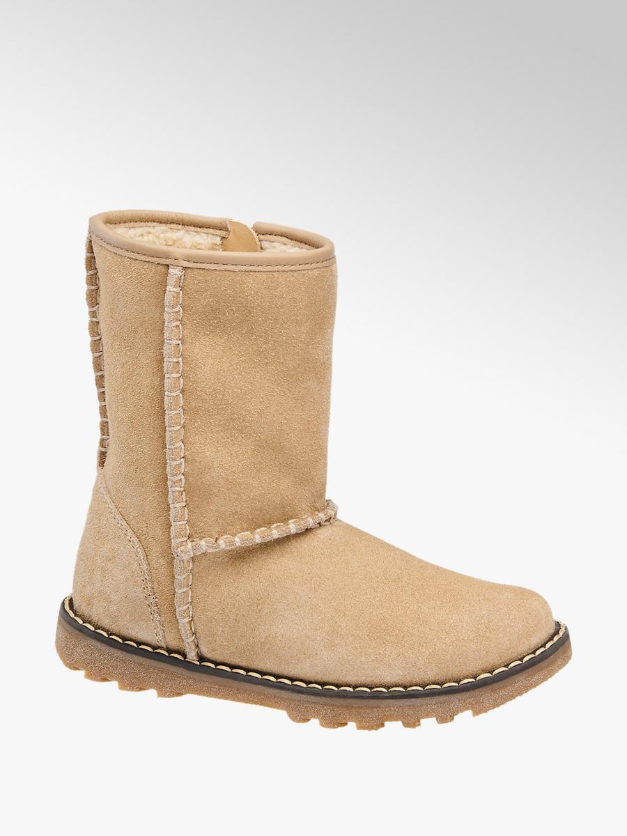 wholesale dealer 85ac1 d1bf1 Josie Weite M IV Mädchen Stiefel in beige von Elefanten ...