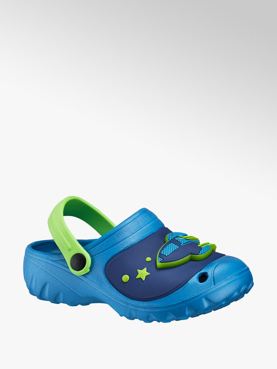 sneakers for cheap a4e19 ffc74 Jungen Clog mit LED Funktion in blau von Bobbi-Shoes günstig ...