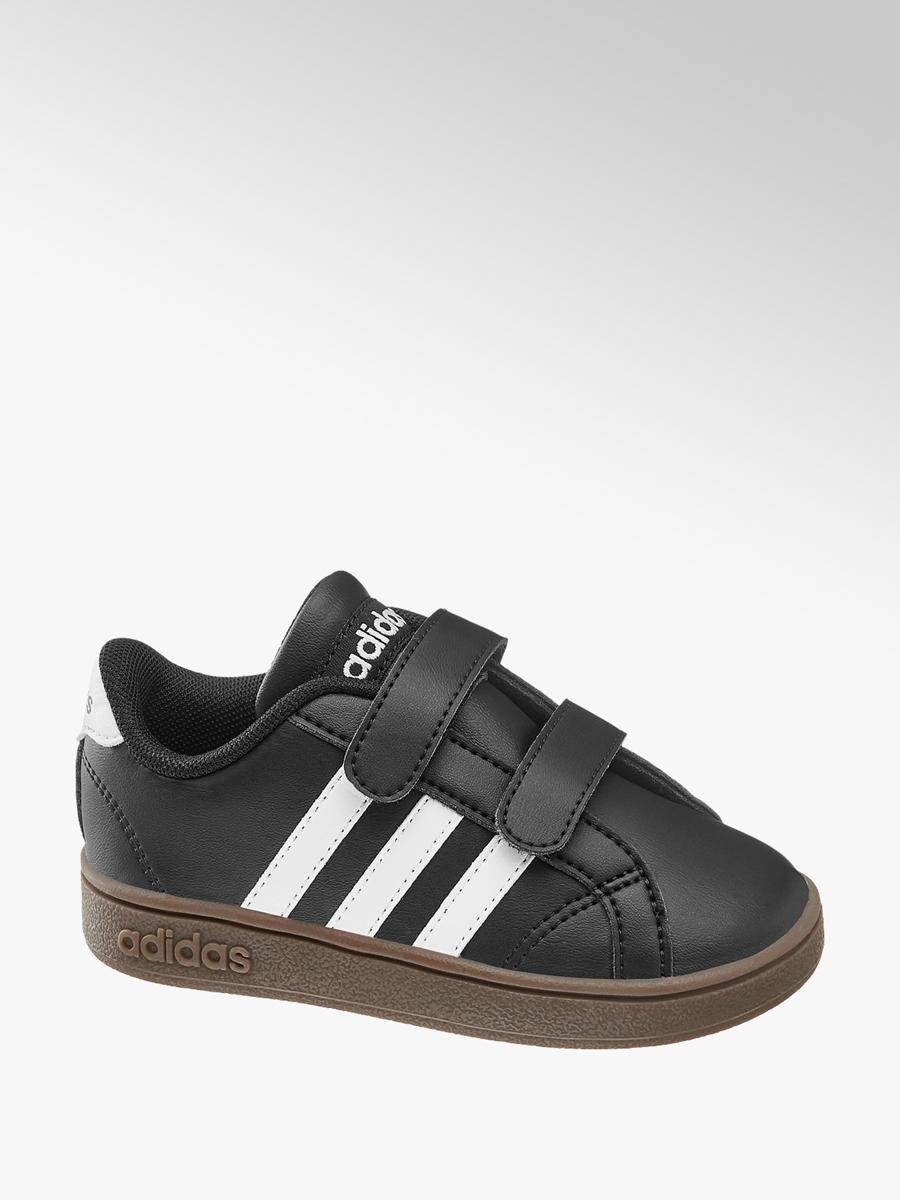 best service 029e6 6970b Jungen Klettschuhe BASELINE CMF von adidas in schwarz ...