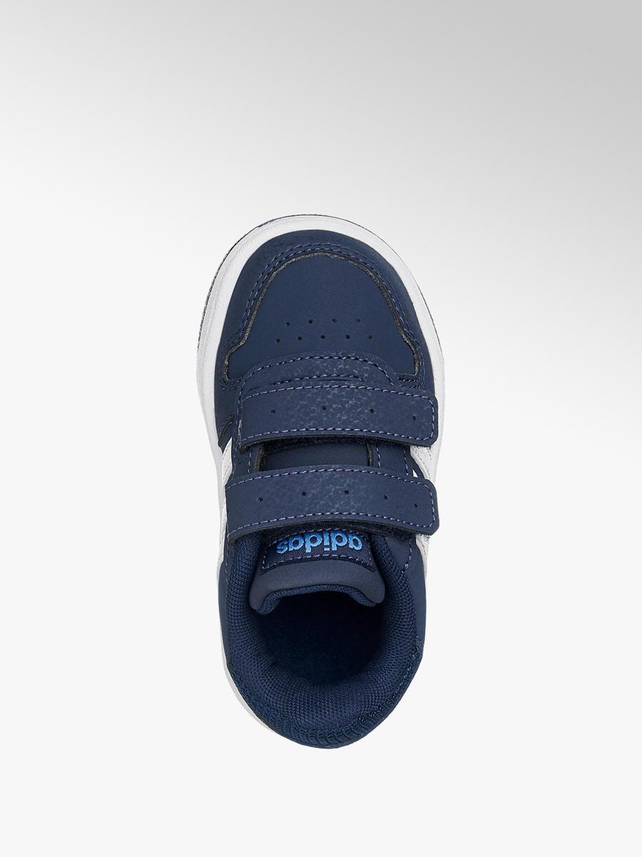 promo code 9951a 18e41 Jungen Klettschuhe VS HOOPS 2.0 von adidas in navyblau ...