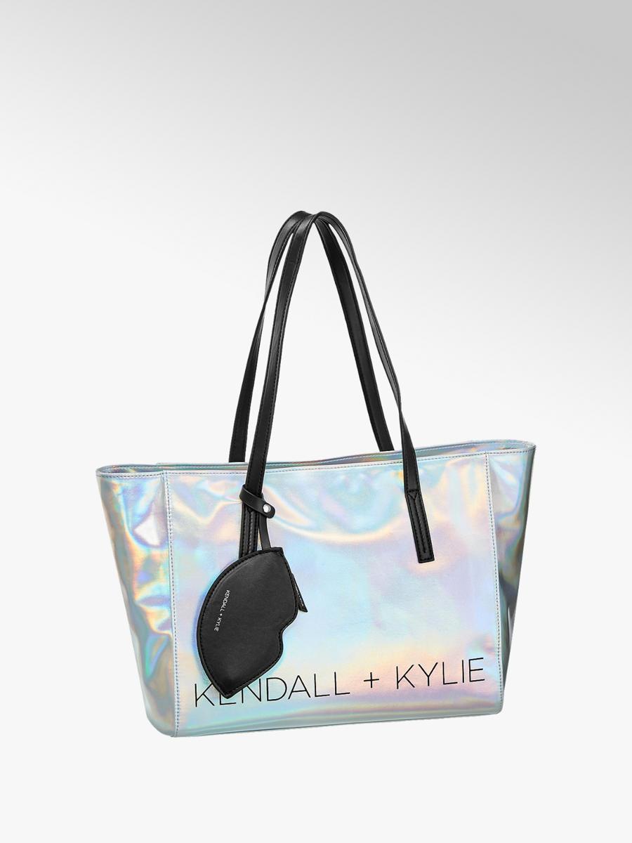 Kendall Kylie Las Metallic Silver Per Deichmann