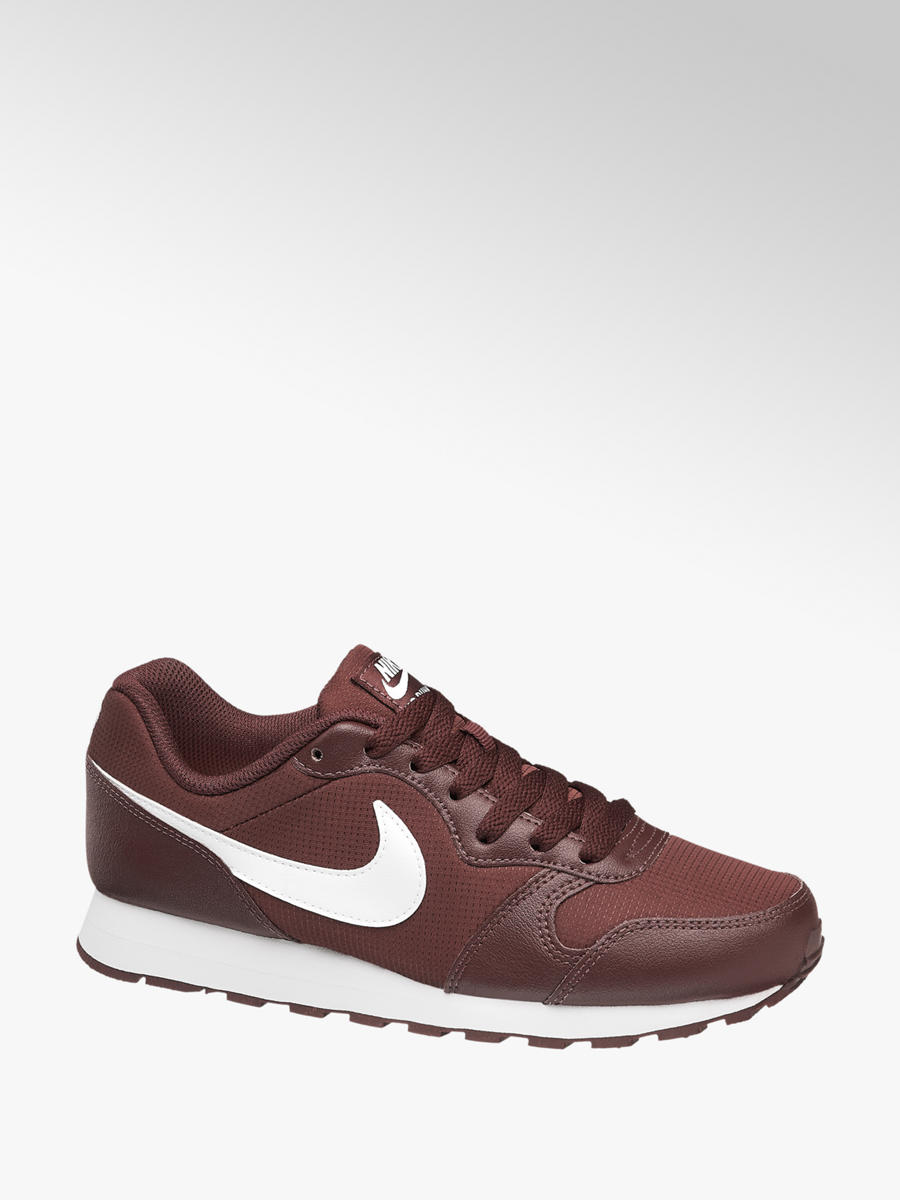 Kinder Sneakers MD RUNNER 2 GS von NIKE in rot