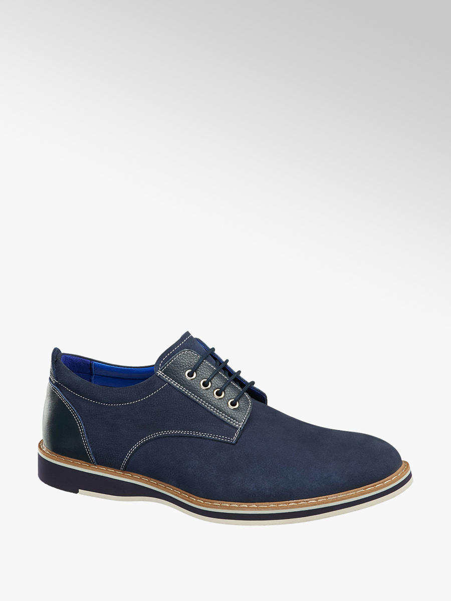 Kék férfi alkalmi cipő - Borelli  e400f3867f