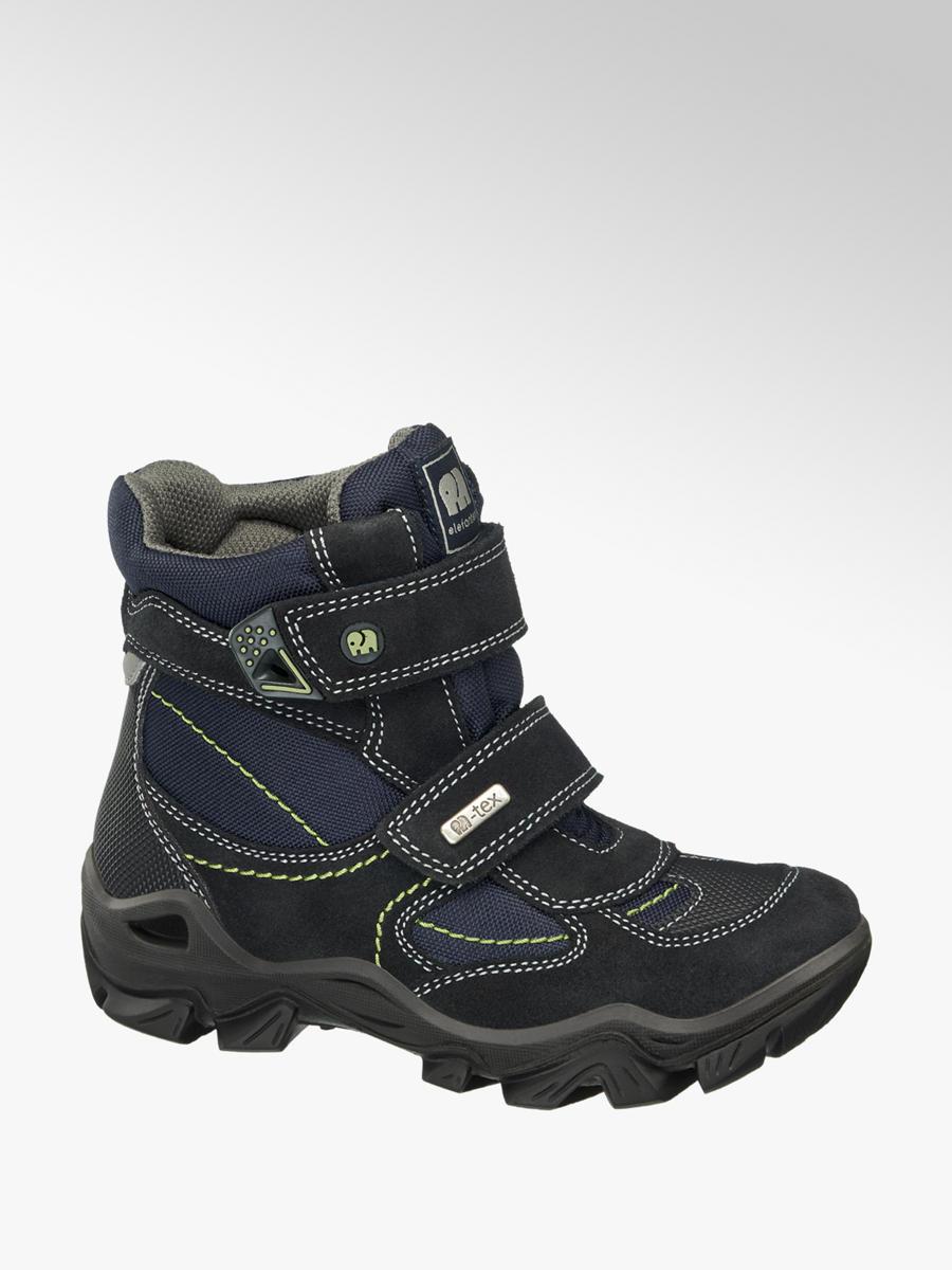 Kotníková obuv na suchý zip značky Elefanten v barvě modrá - deichmann.com c7de7233e3