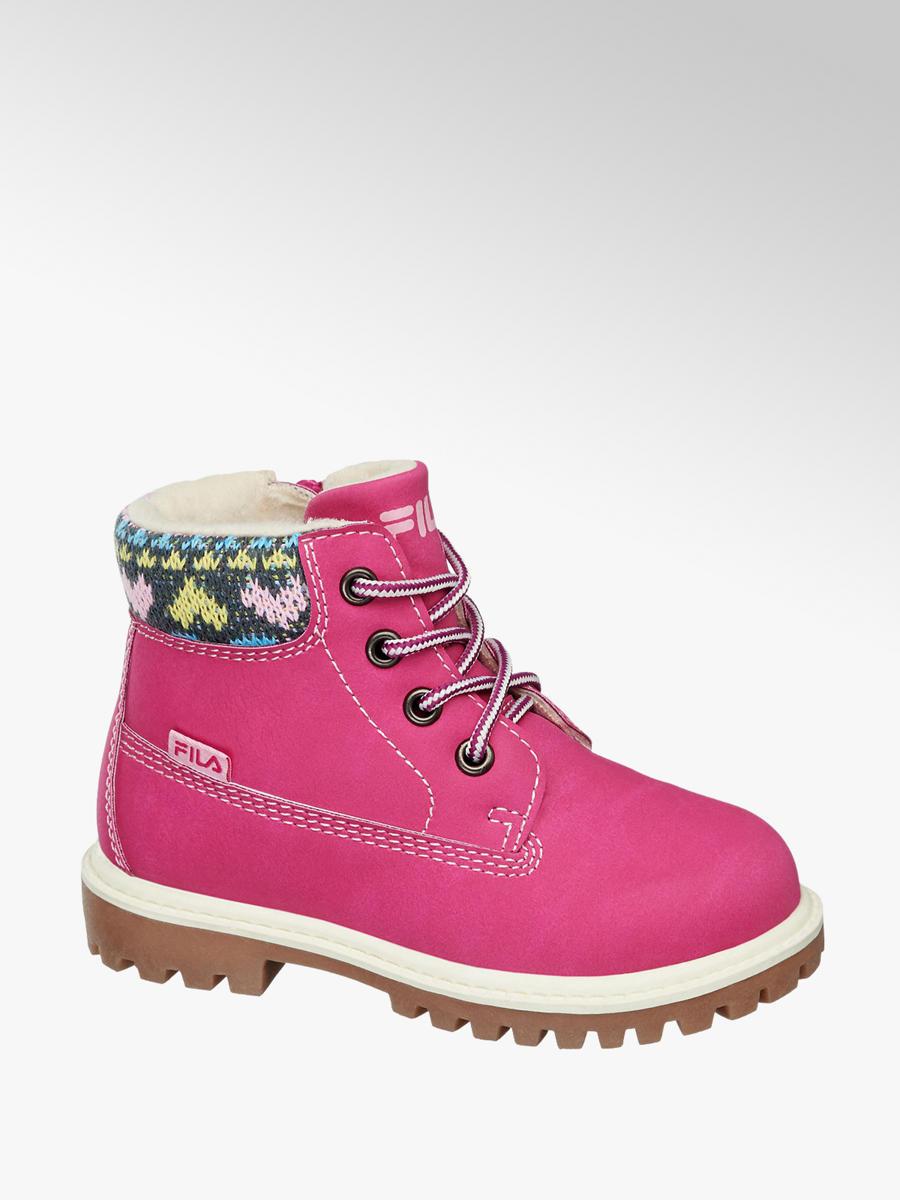 Kotníková obuv značky Fila v barvě růžová - deichmann.com ce3f9c3a8b4