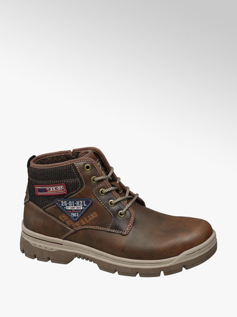 d9fdd240ab97 Kotníková obuv značky Venture by Camp David v barvě hnědá - deichmann.com